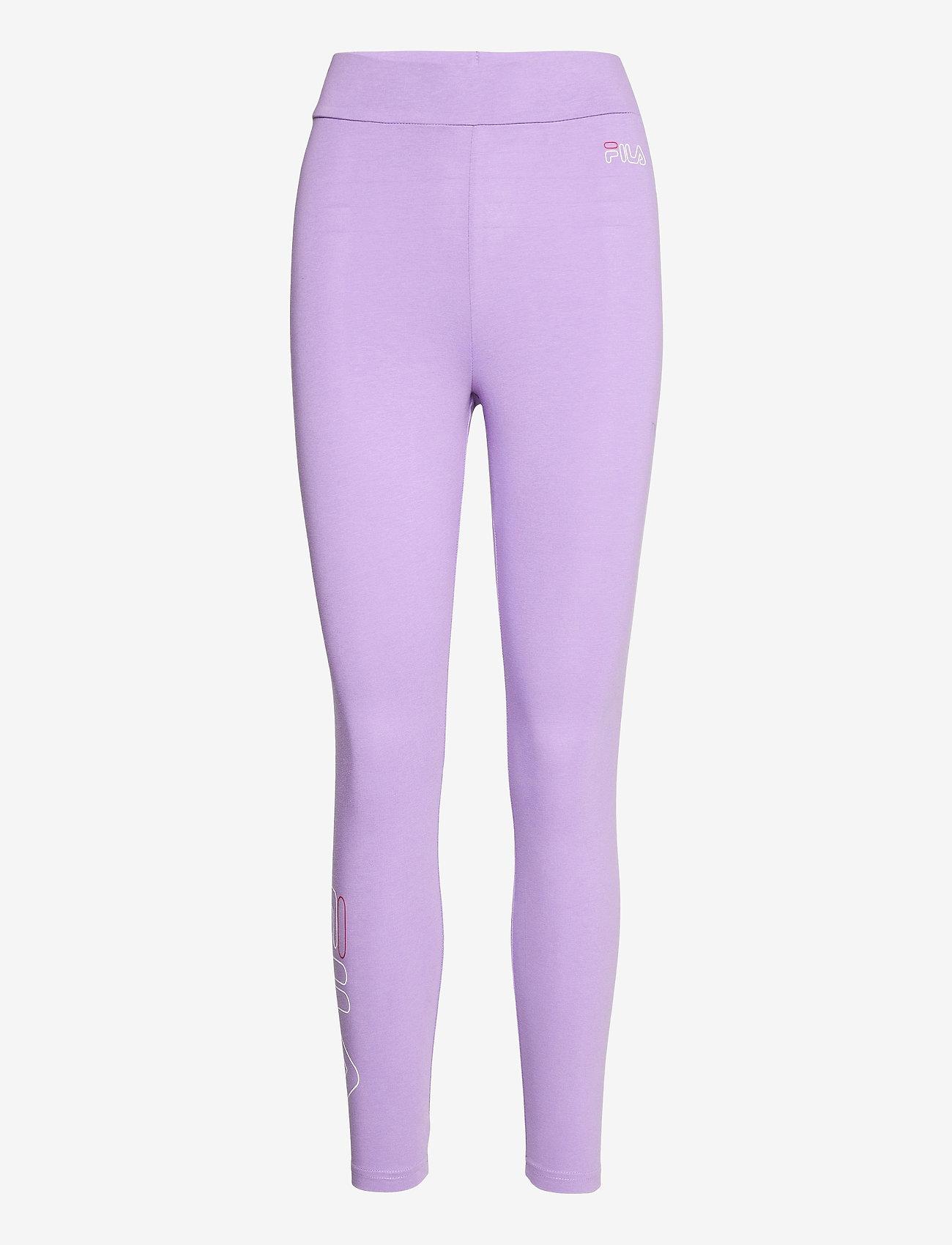 FILA - WOMEN FELIZE 7/8 leggings - leggings - purple haze - 0