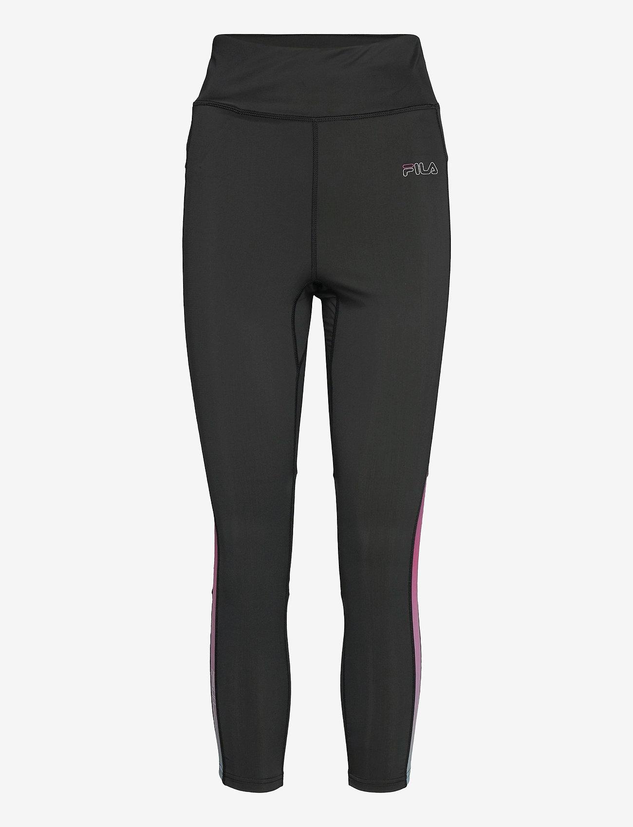 FILA - WOMEN ESHE 7/8 tight - collants d'entraînement - black-colour gradient - 0