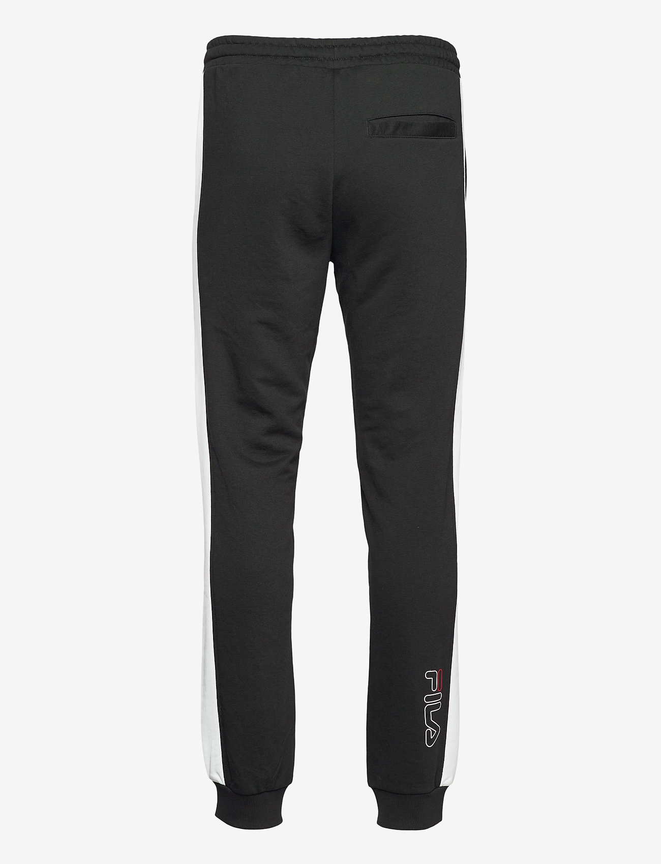 FILA - MEN LUI sweat pants - treenihousut - black-bright white - 1