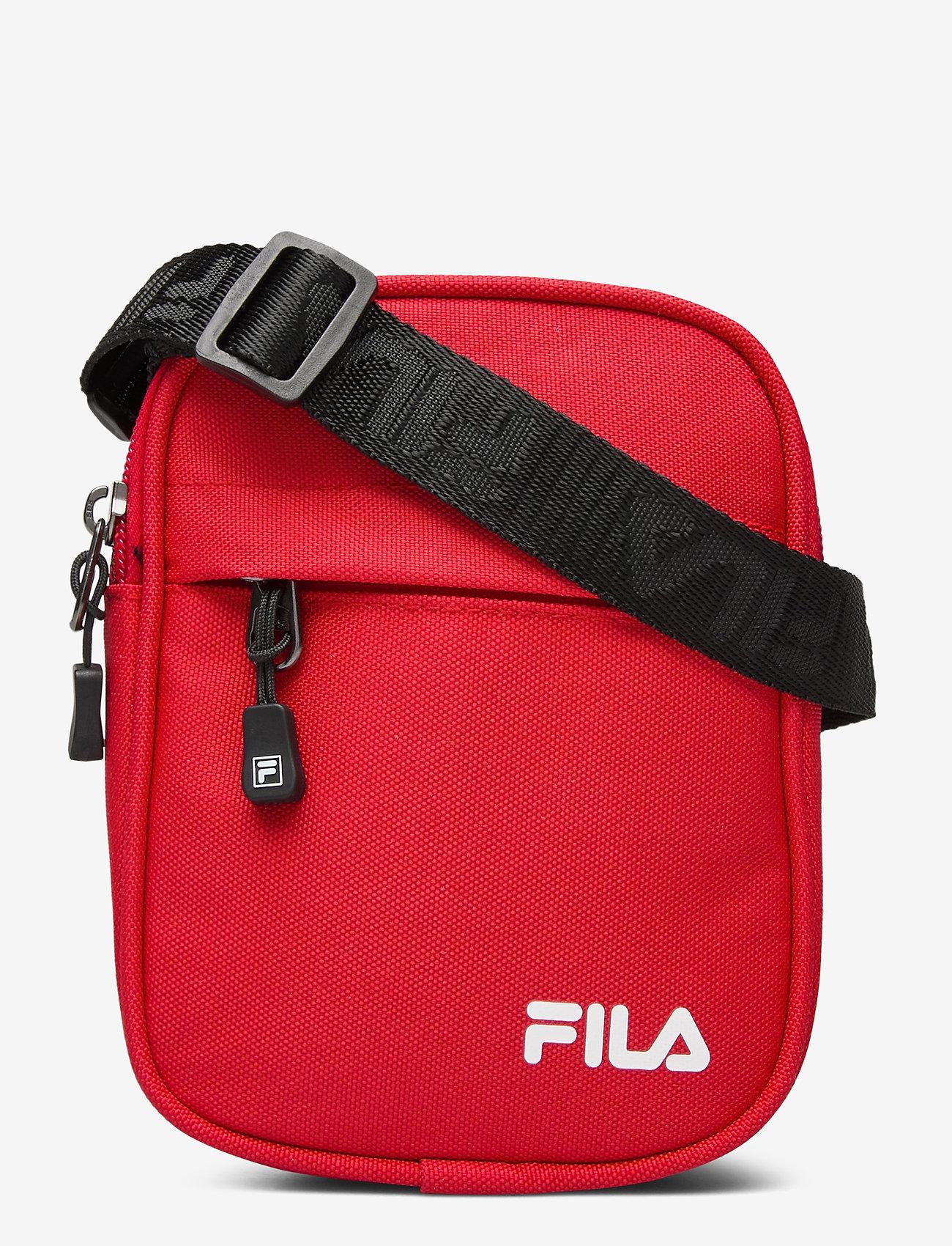 FILA - NEW PUSHER BAG BERLIN - olkalaukut - true red - 0
