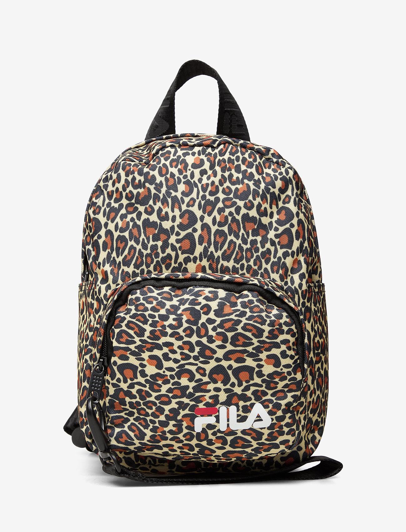 FILA - VARBERG AOP mini strap backpack - training bags - allover leo - 0