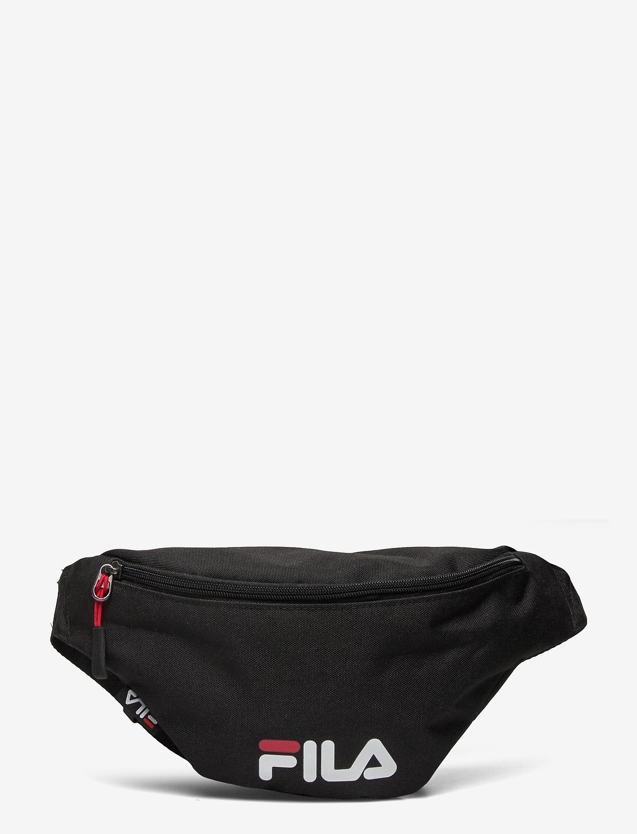 FILA - WAIST BAG SLIM (small logo) - vyölaukut - black - 0