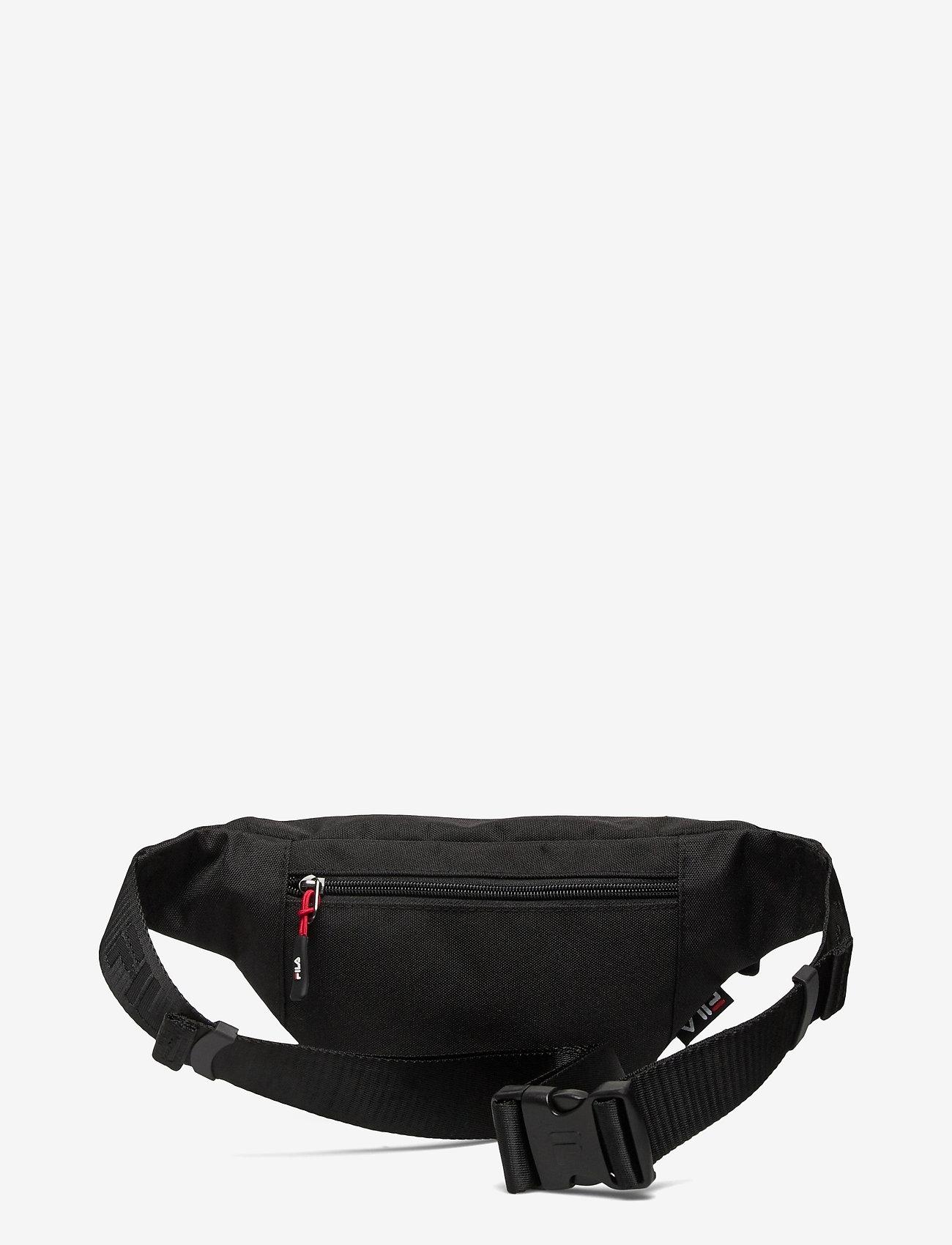 FILA - WAIST BAG SLIM (small logo) - vyölaukut - black - 1