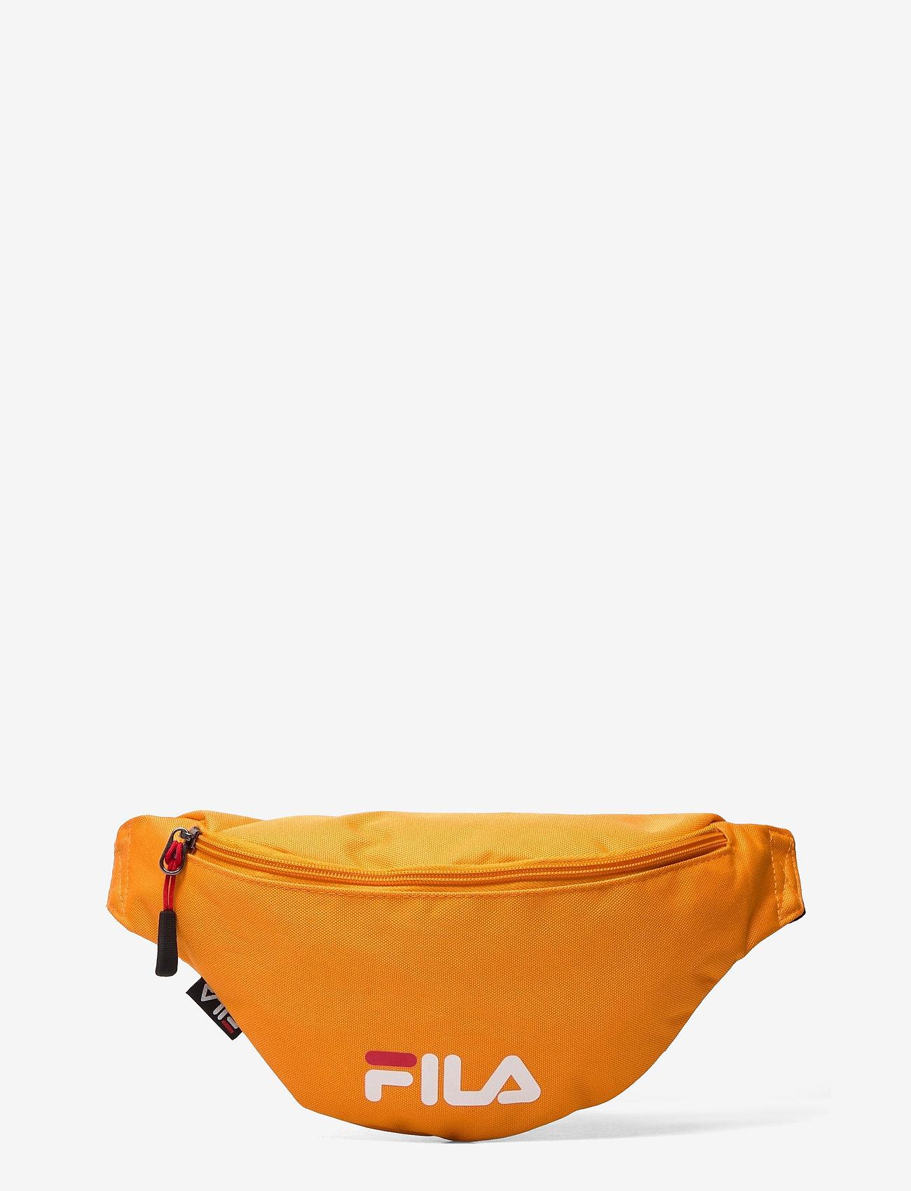 FILA - WAIST BAG SLIM (small logo) - vyölaukut - flame orange - 0