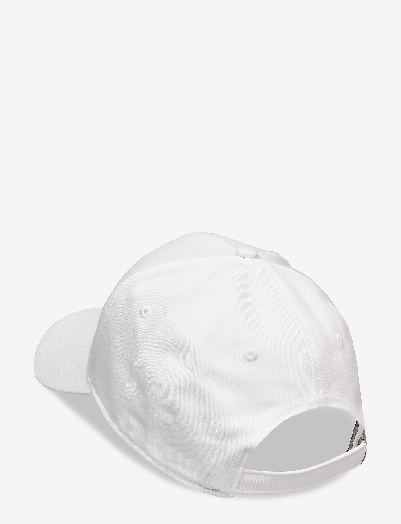 FILA - 6 PANEL CAP with linear logo/strap back - casquettes - bright white - 1