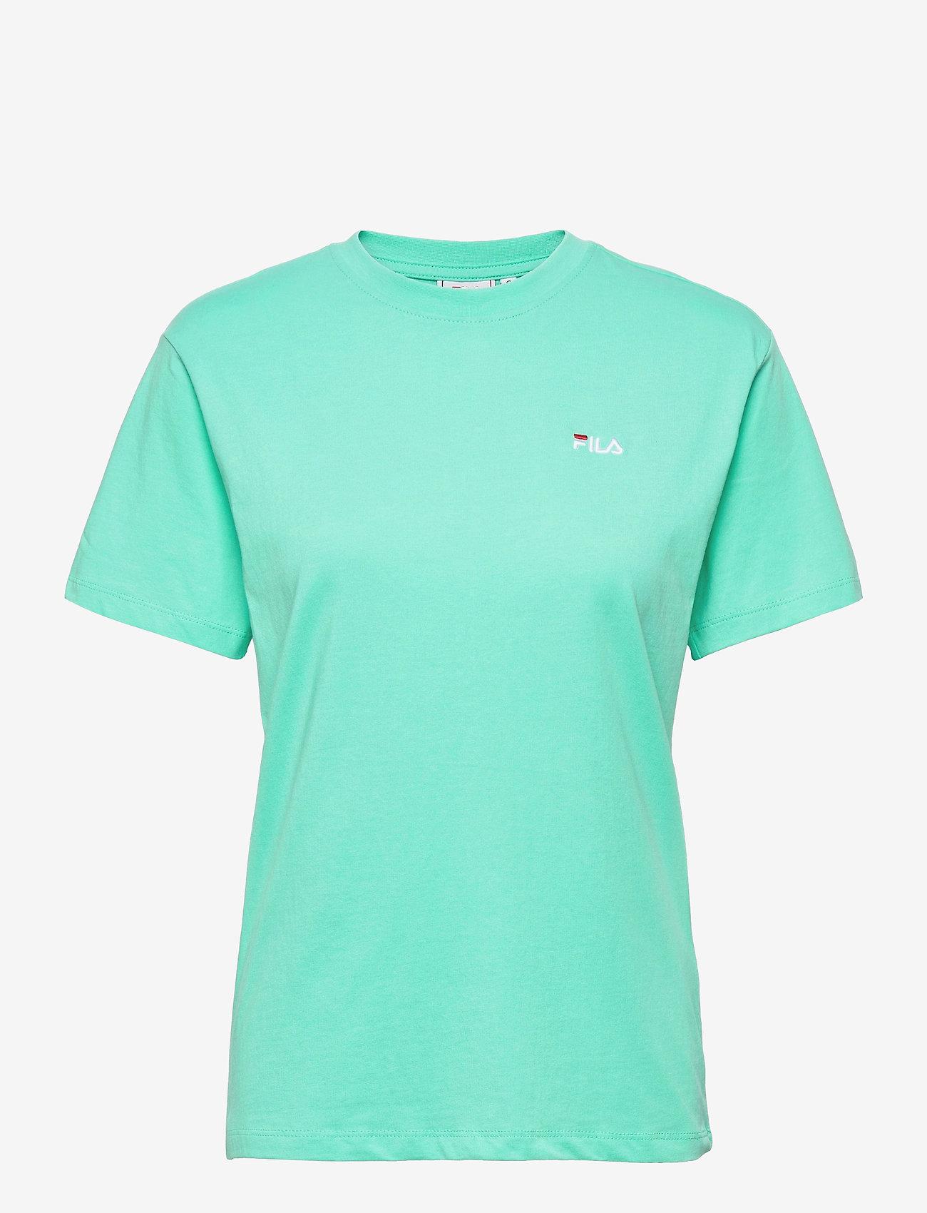 FILA - WOMEN EARA tee - t-shirts - biscay green - 0
