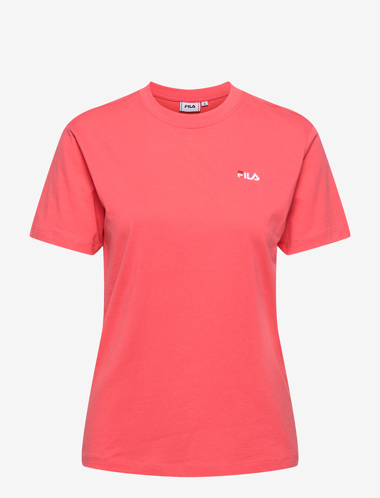 FILA - WOMEN EARA tee - t-shirts - calypso coral - 0