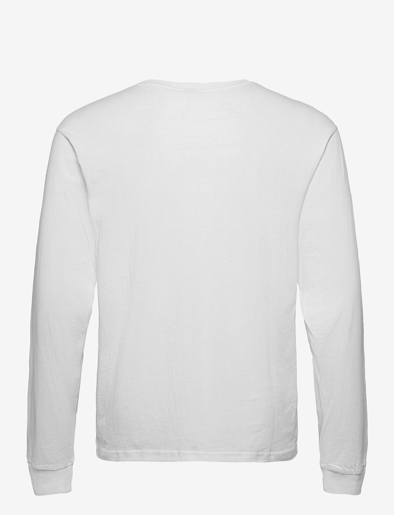 FILA - MEN EITAN long sleeve shirt - hauts à manches longues - bright white - 1