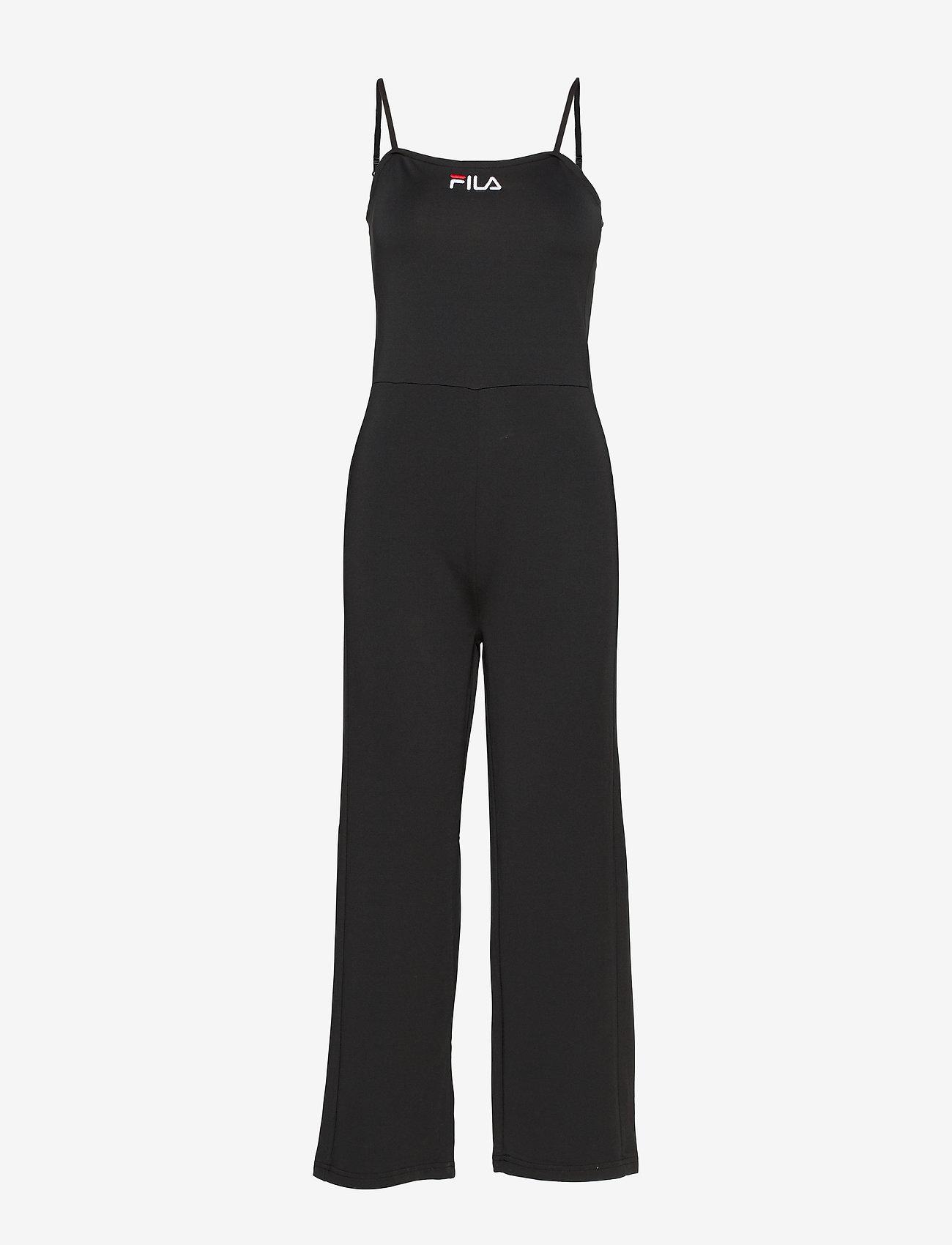 FILA - WOMEN TANUJA jumpsuit - 7/8 length - sportieve tops - black - 0