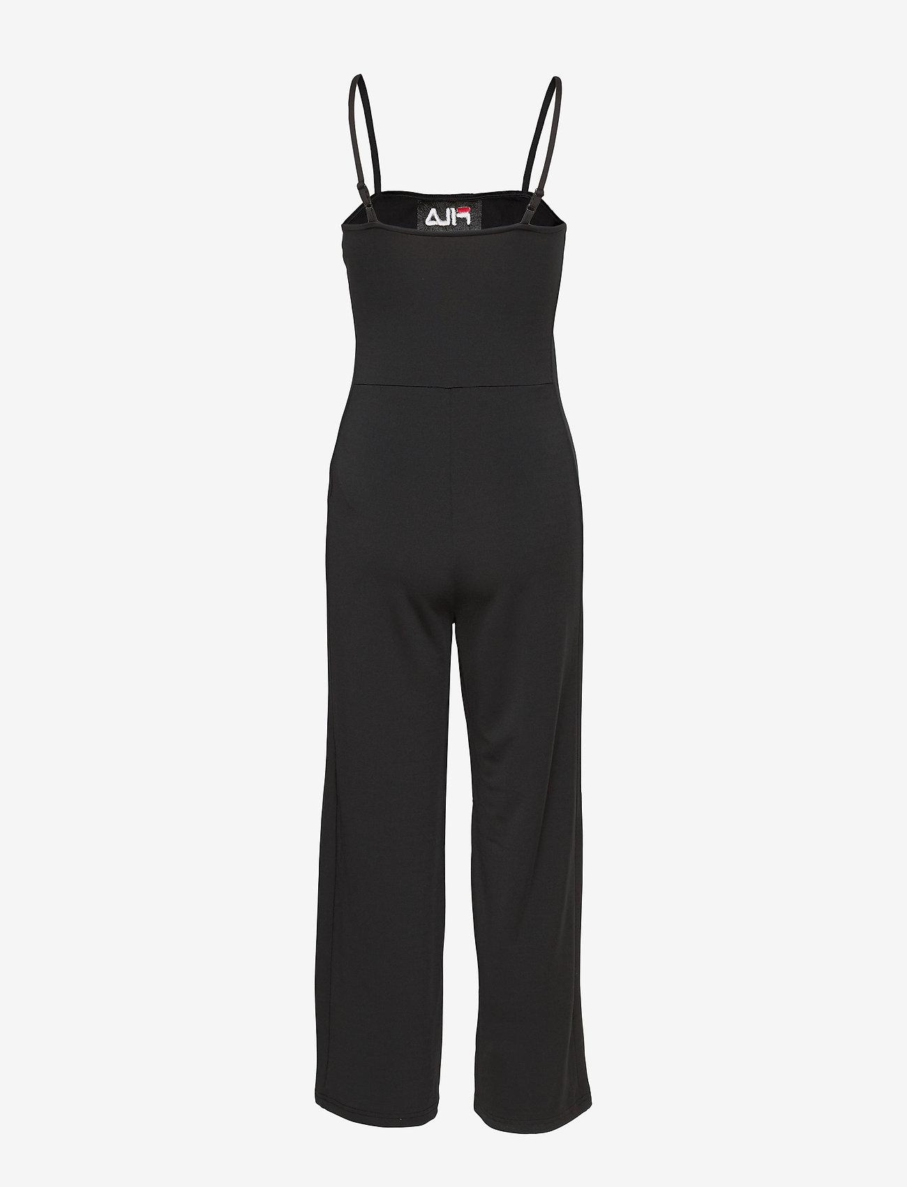 FILA - WOMEN TANUJA jumpsuit - 7/8 length - sportieve tops - black - 1