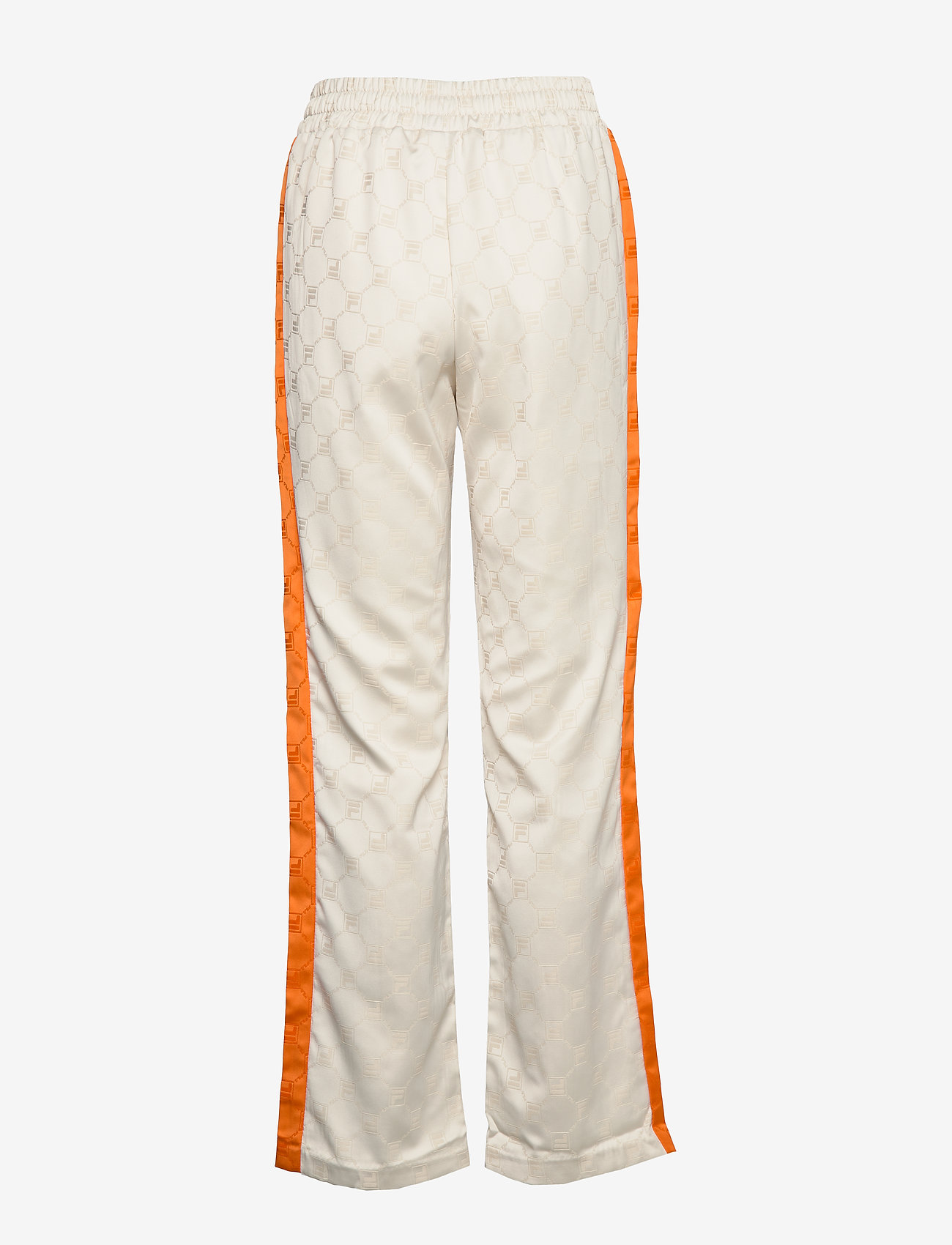 Women Halle Satin Track Pants (Eggnog-mandarin Orange) - FILA wytxBb
