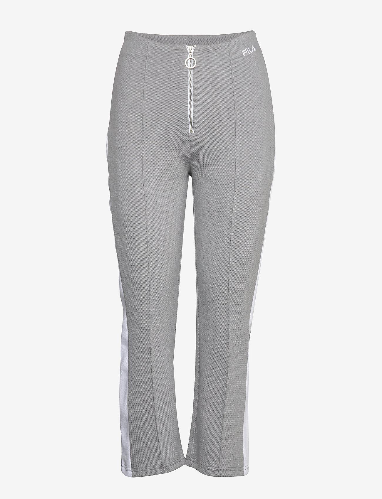 FILA - WOMEN MABLI cropped pants - sweatpants - monument-bright white