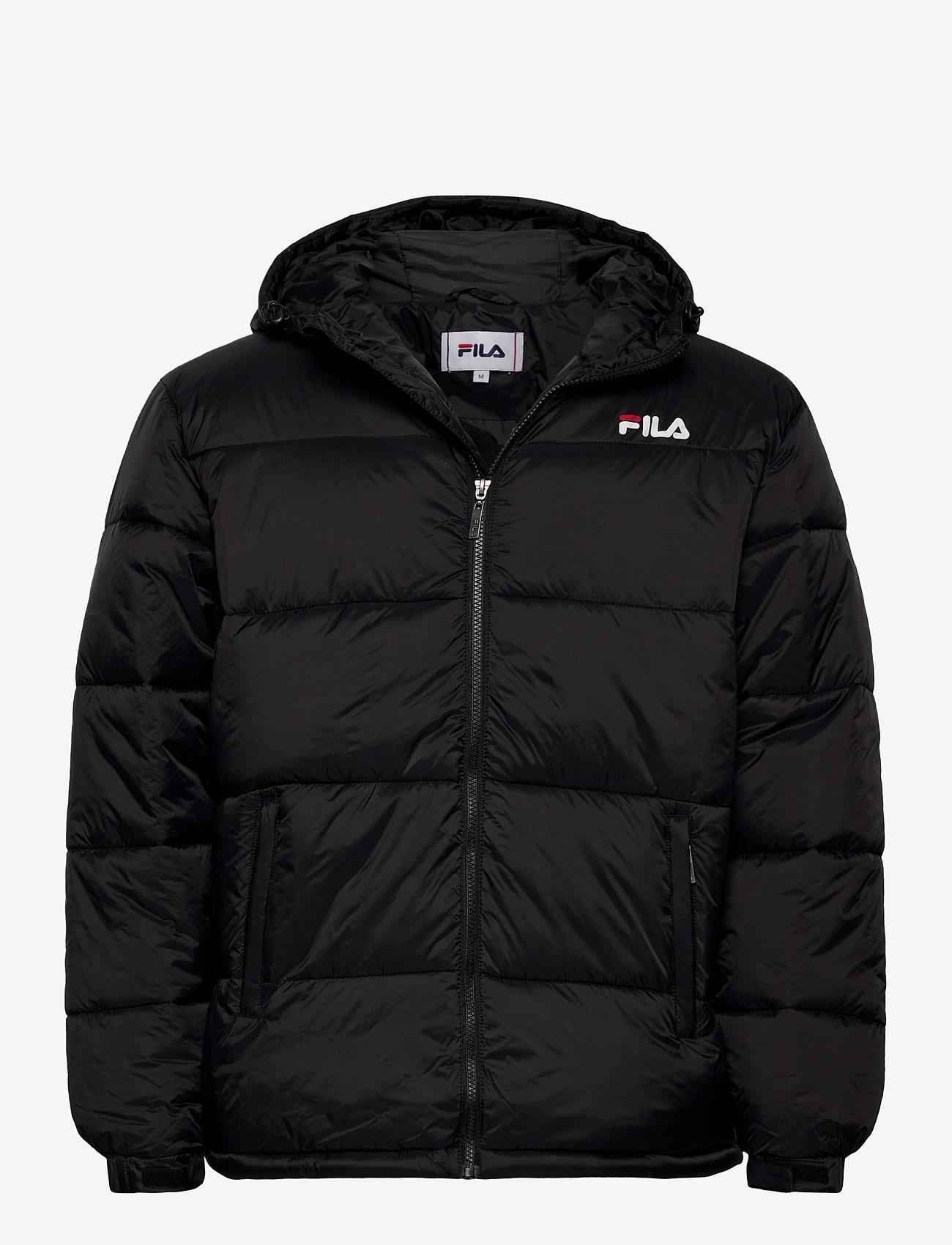 FILA - SCOOTER puffer jacket - veste sport - black - 0