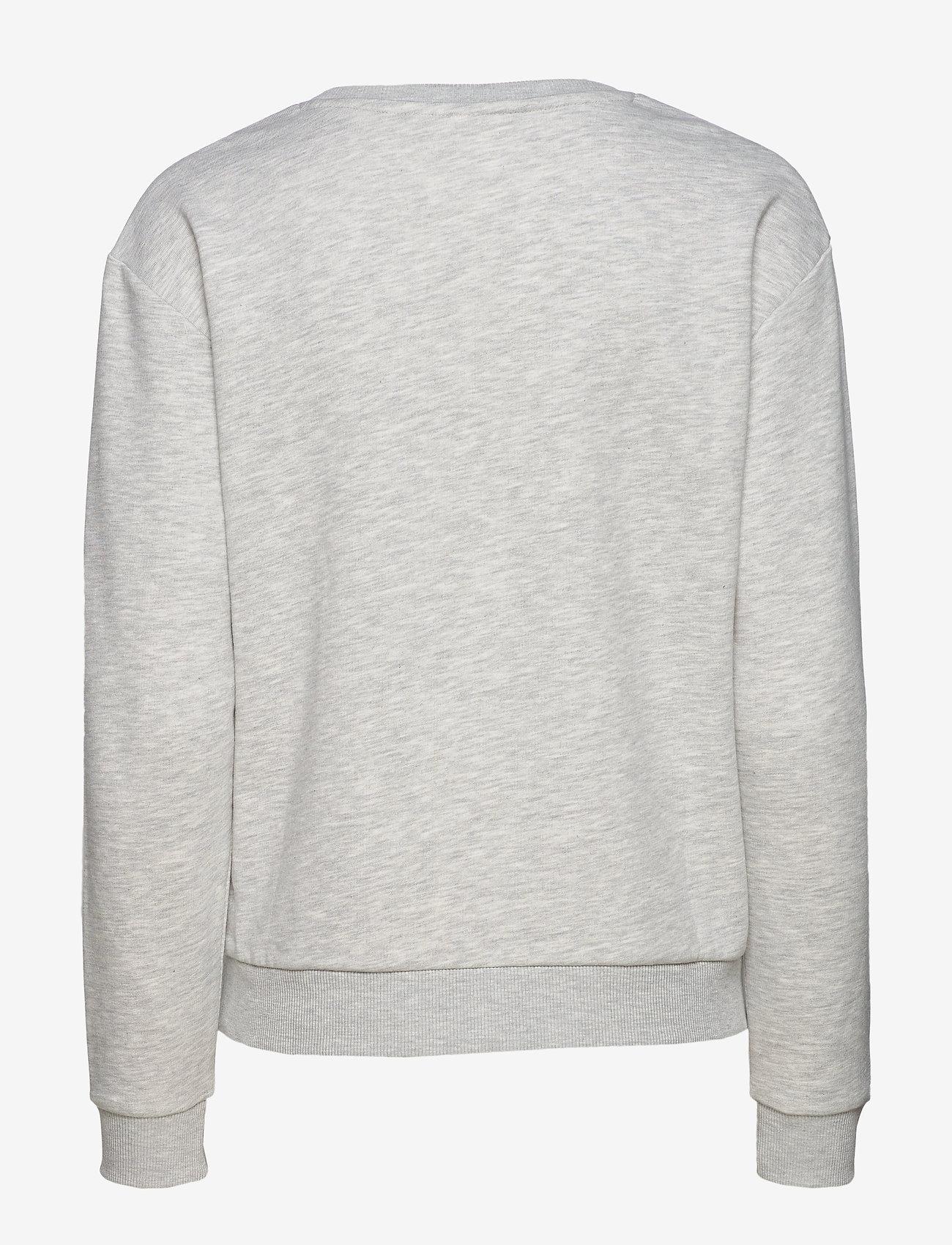 Women Effie Crew Sweat (Light Grey Melange Bros) (385 kr) - FILA