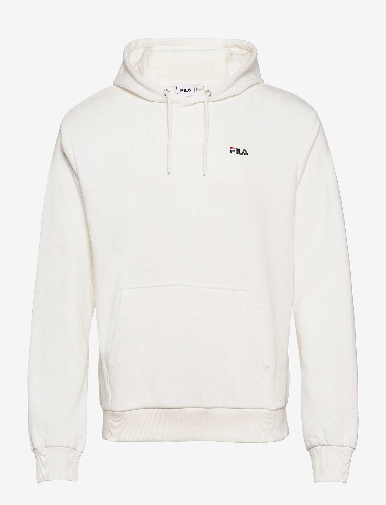 FILA - MEN EDISON hoody - pulls a capuche - blanc de blanc - 0