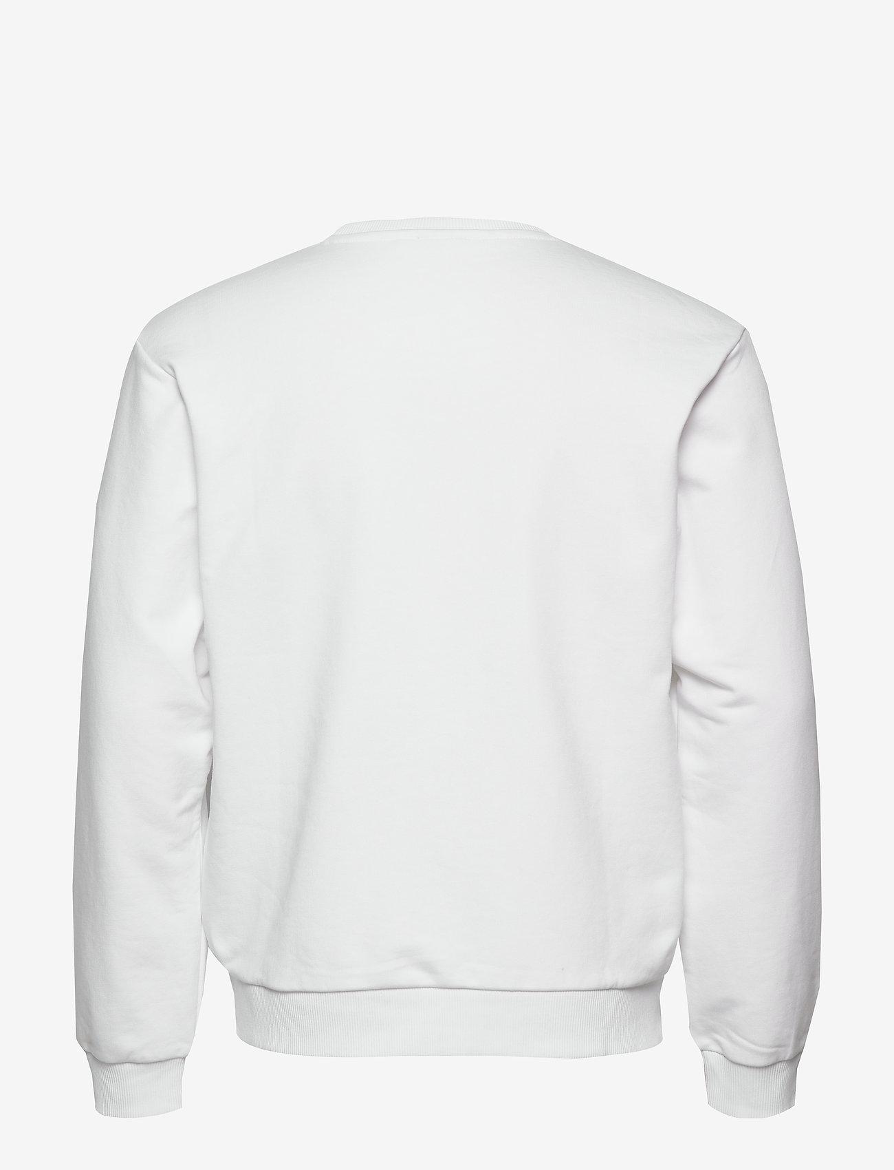 FILA - MEN EFIM crew sweat - sweats - bright white - 1