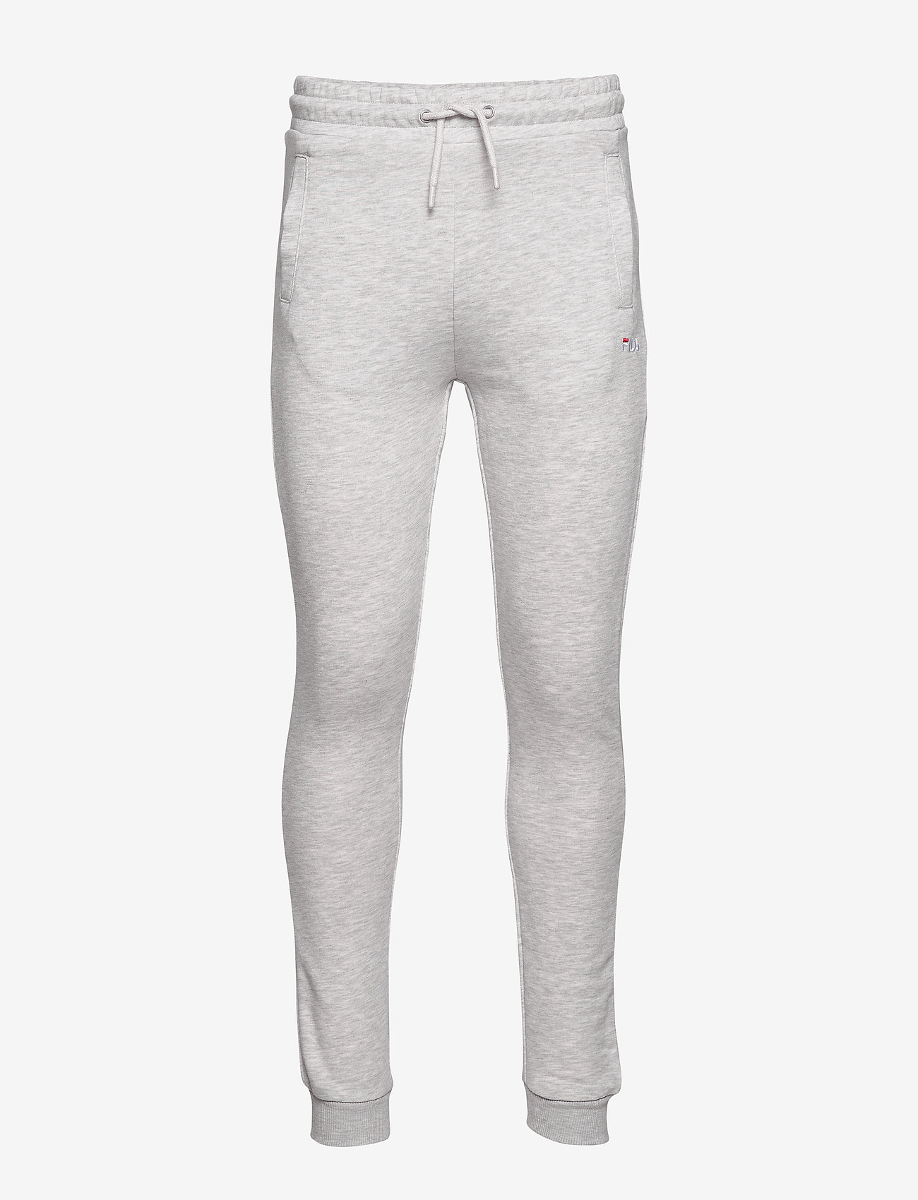 FILA - MEN EDAN sweat pants - treenihousut - light grey melange bros - 0