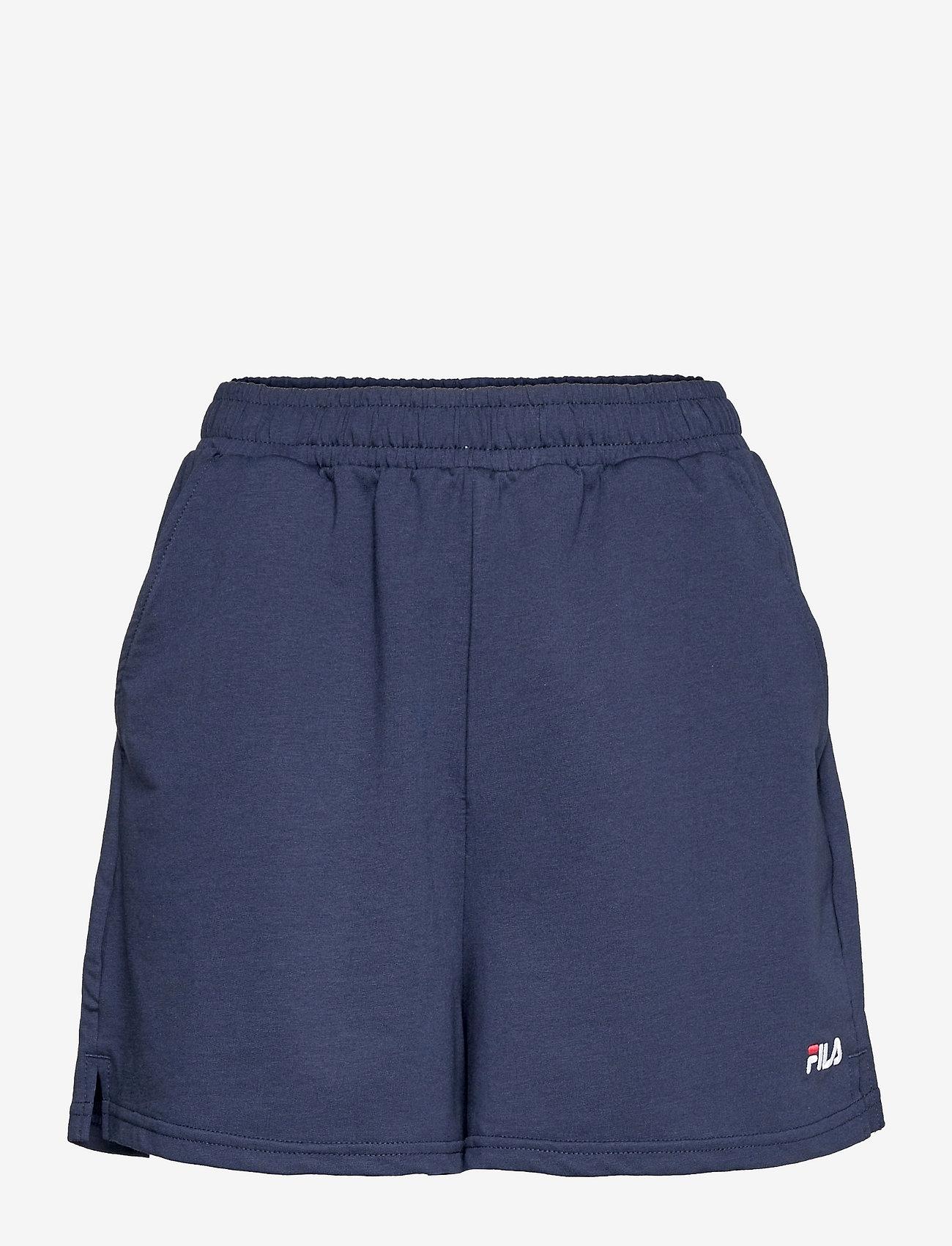 FILA - EDEL shorts high waist - chaussures de course - black iris - 0