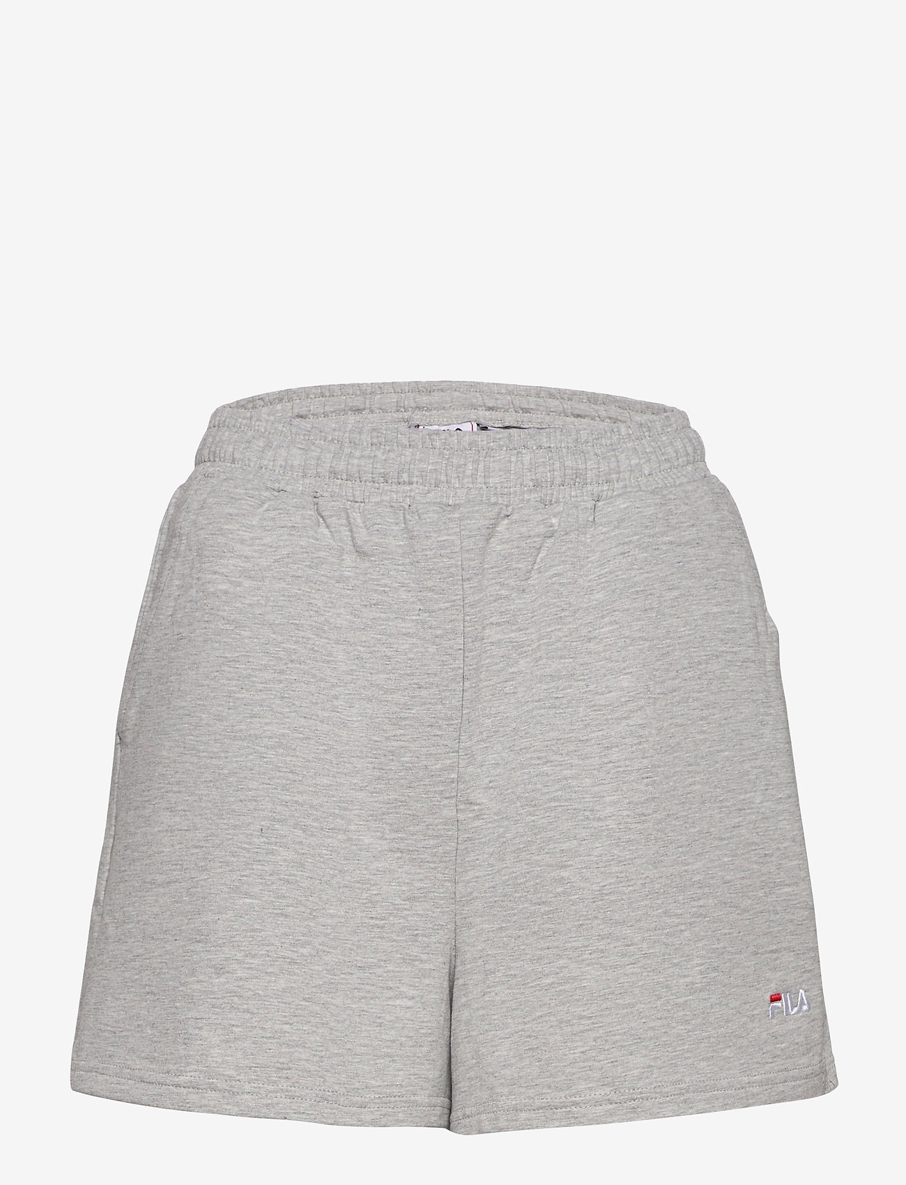 FILA - EDEL shorts high waist - chaussures de course - light grey melange bros - 0