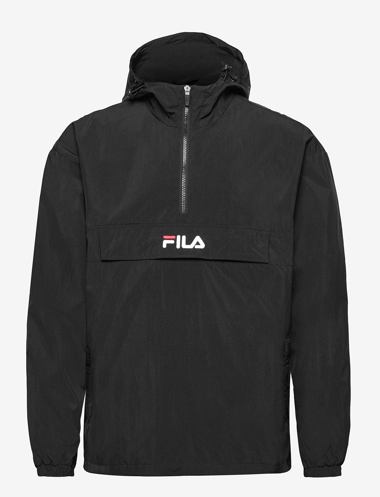FILA - MEN ELMO woven anorak - anoraks - black - 0