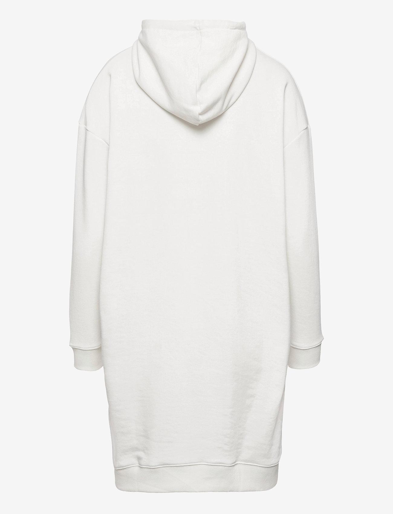 FILA - WOMEN FELICE oversized hoody dress - robes de jour - blanc de blanc - 1