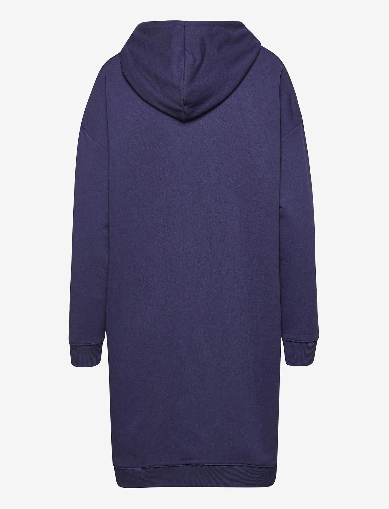 FILA - WOMEN FELICE oversized hoody dress - robes de jour - crown blue - 1