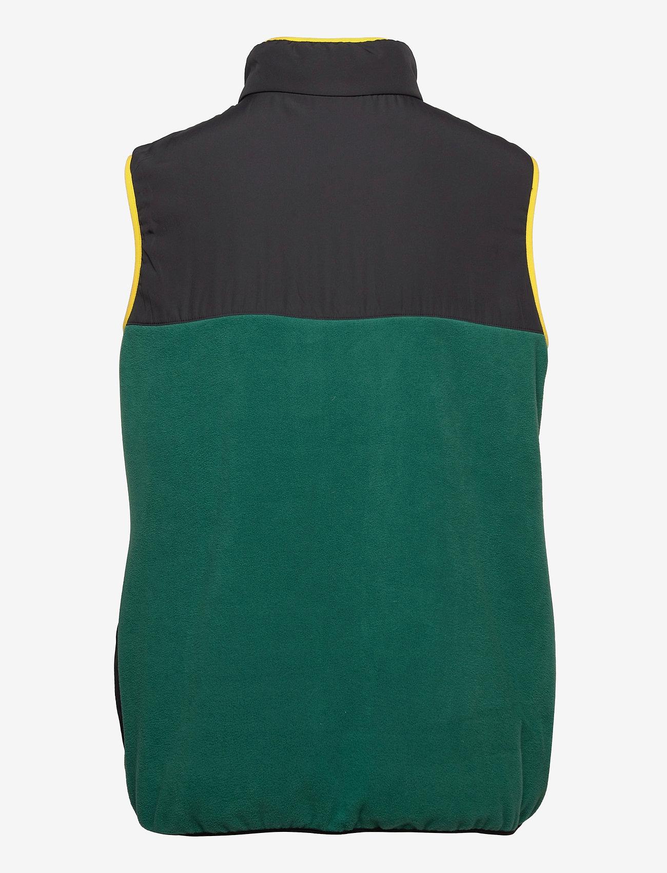 FILA - MEN CIAR fleece vest - veste sport - storm-black - 1
