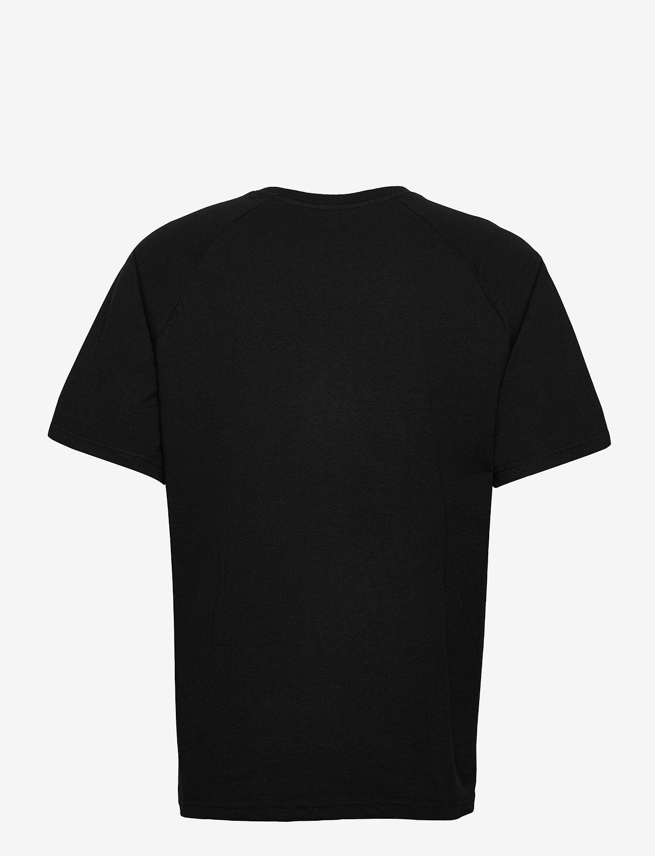 FILA - MEN CHENG raglan tee - t-shirts - black - 1