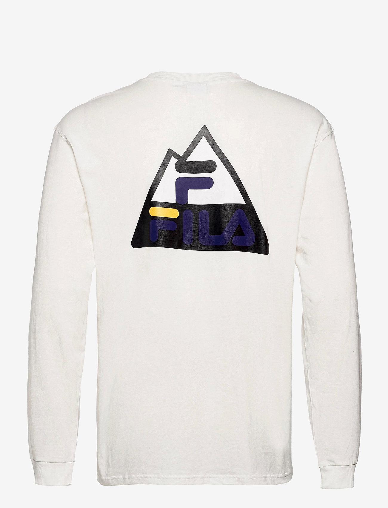 FILA - MEN CICERO long sleeve shirt - sweats - blanc de blanc - 1