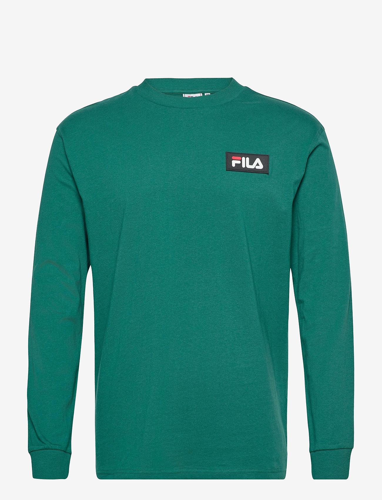 FILA - MEN CICERO long sleeve shirt - sweats - storm - 0