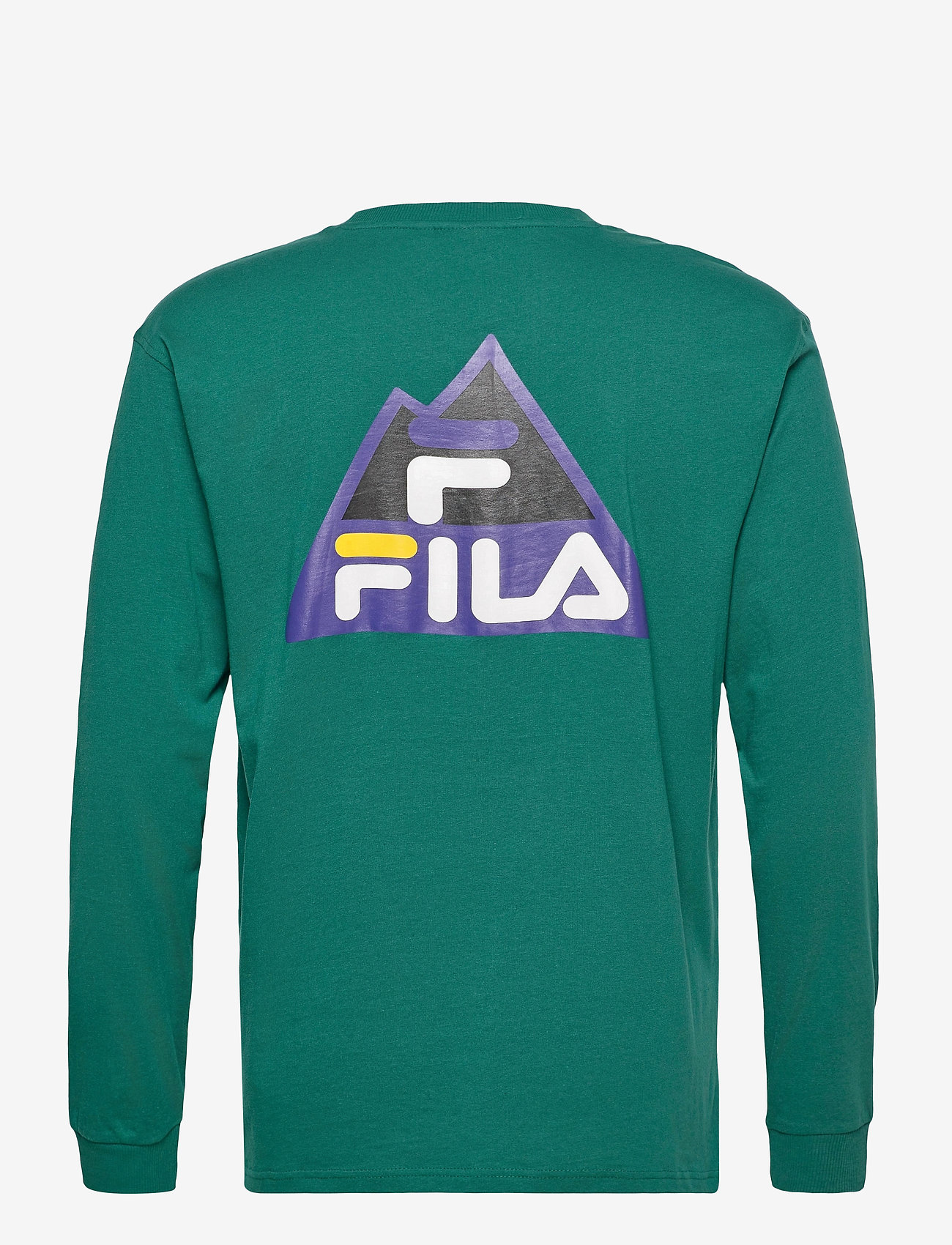FILA - MEN CICERO long sleeve shirt - sweats - storm - 1