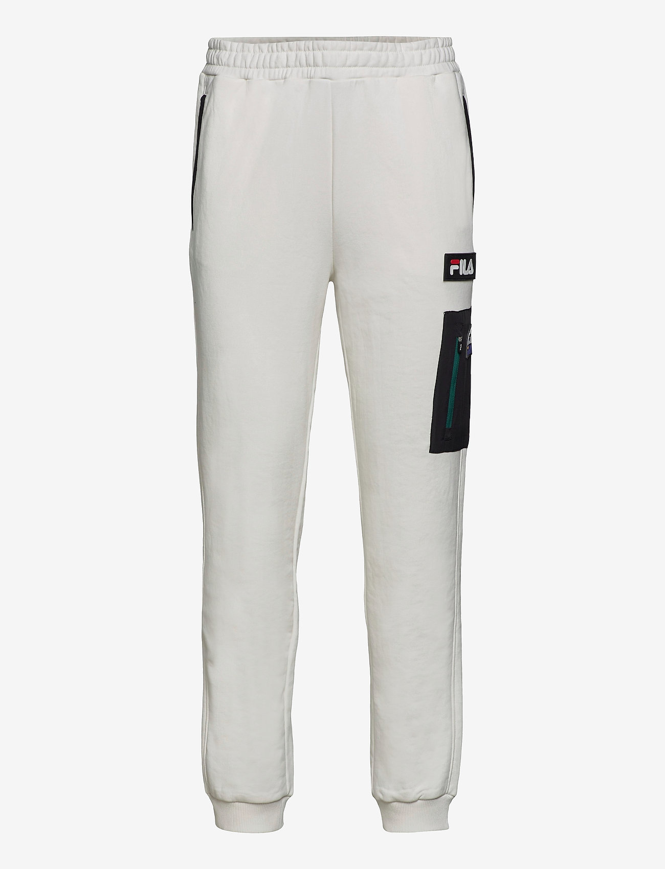 FILA - MEN CLEM sweat pants - treenihousut - blanc de blanc-black - 0