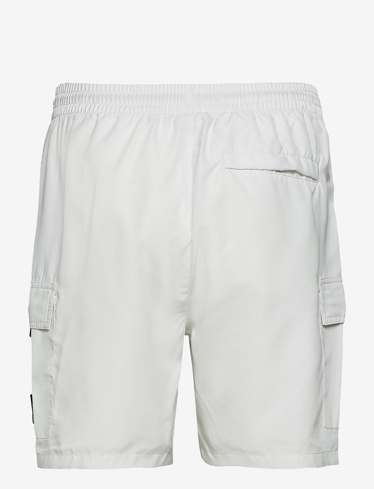 FILA - MEN COLM woven shorts - short décontracté - blanc de blanc - 1