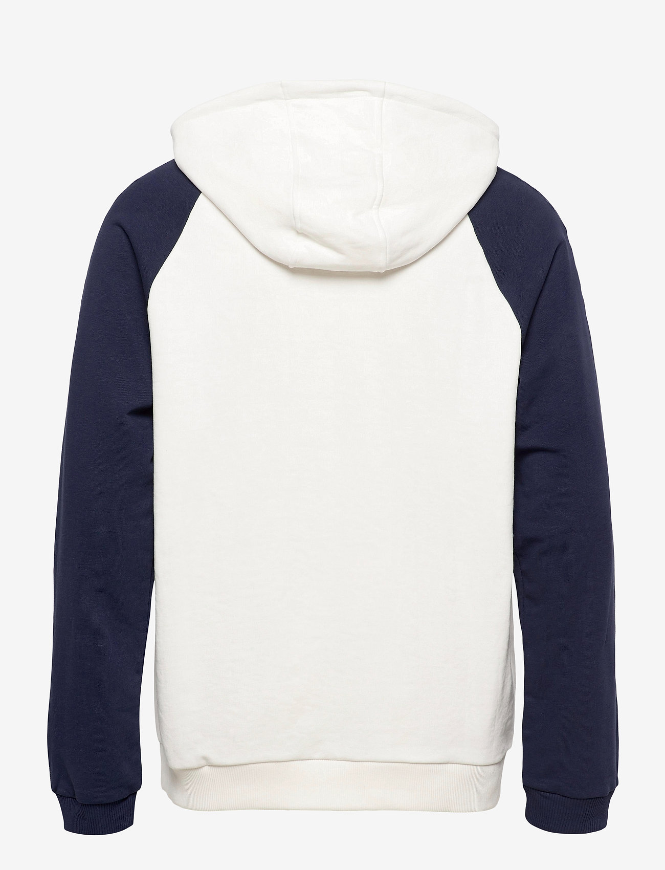 FILA - MEN HUDD raglan hoody - pulls a capuche - blanc de blanc-black iris - 1