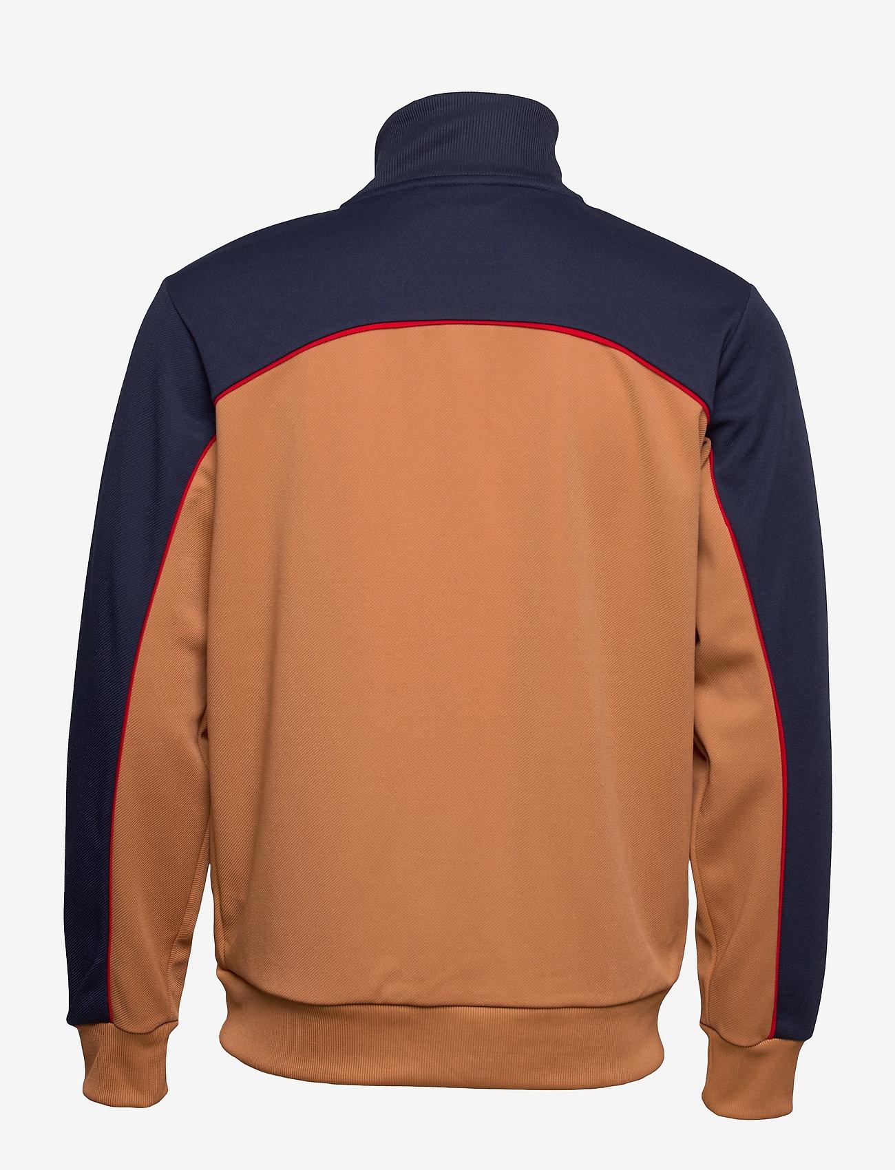FILA - MEN HAVERD track jacket - sweats - black iris-hazel - 1