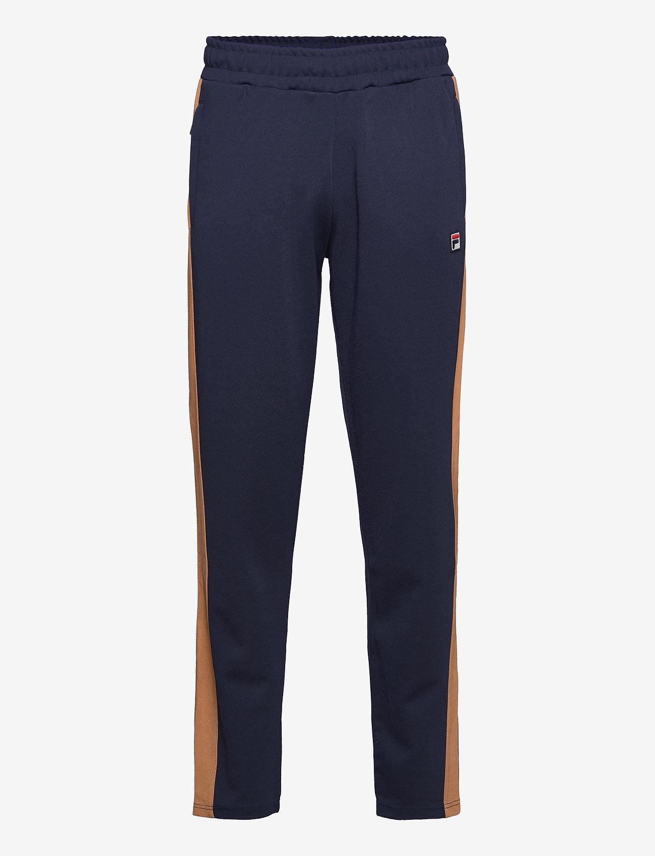 FILA - MEN HAVERD track pants - sale - black iris-hazel - 0
