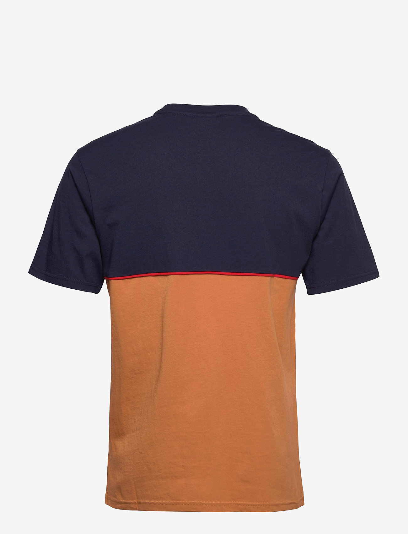 FILA - MEN HAVERD tee - t-shirts - black iris-hazel - 1