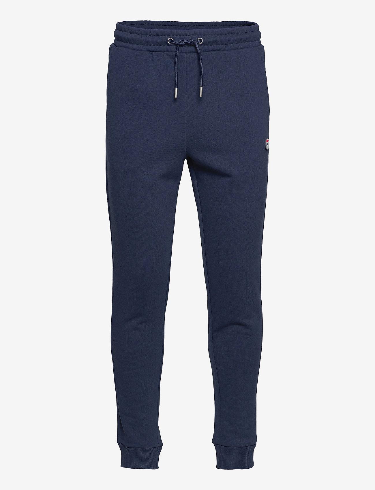 FILA - MEN SAVIR sweat pants - treenihousut - black iris - 0