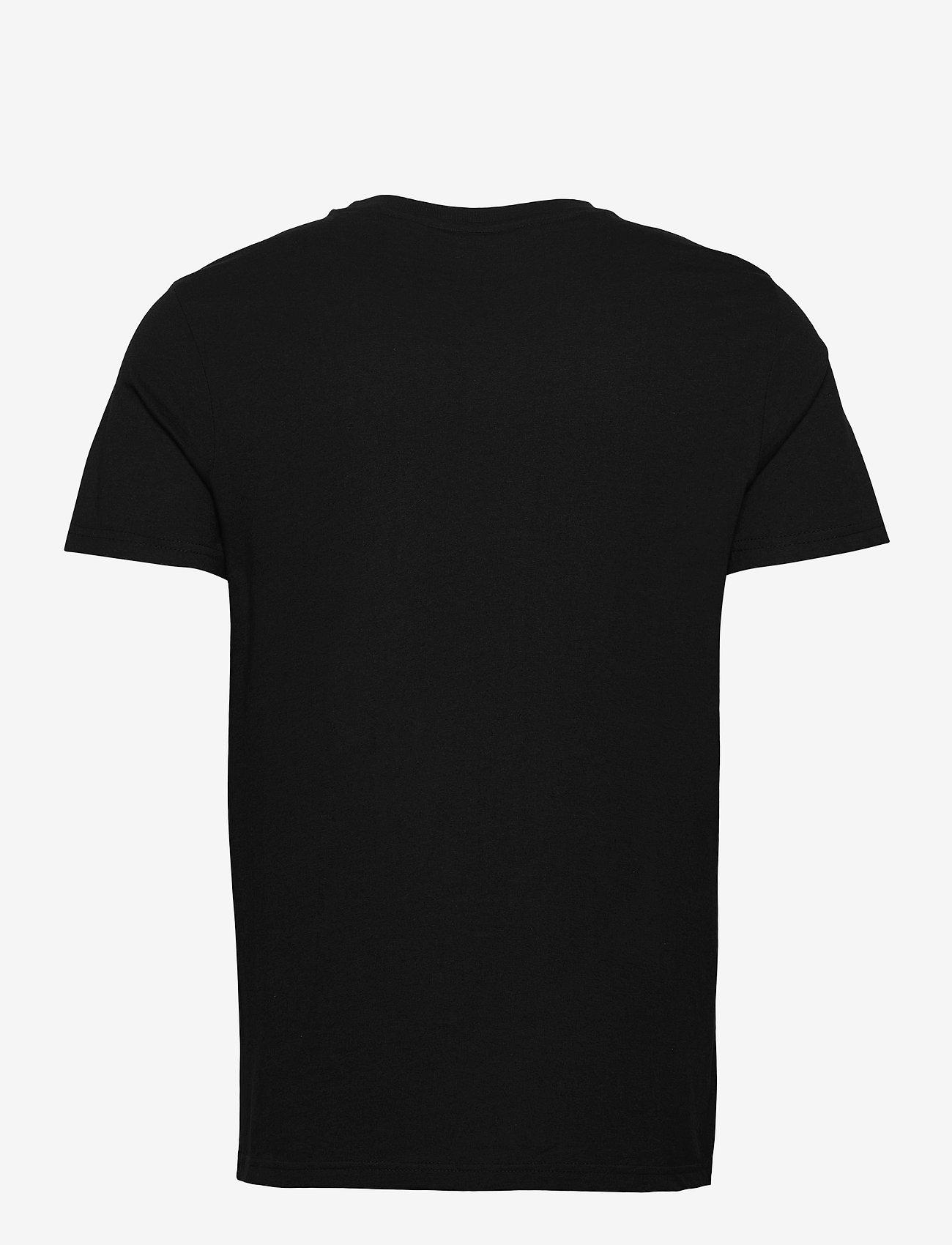 FILA - MEN SAMURU tee - t-shirts - black - 1