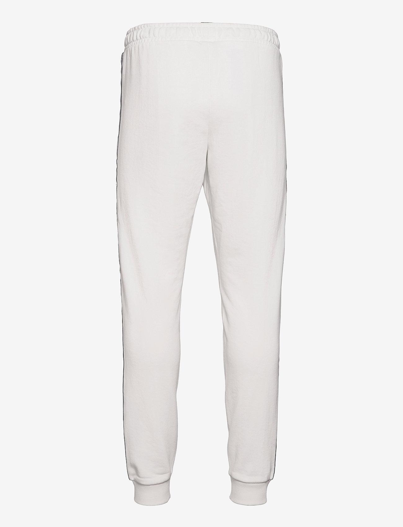 FILA - MEN HEMI track pants - treenihousut - blanc de blanc - 1
