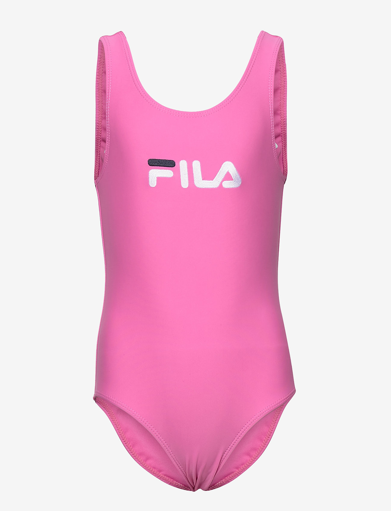 FILA - KIDS GIRLS DINA swimsuit - swimsuits - super pink - 0