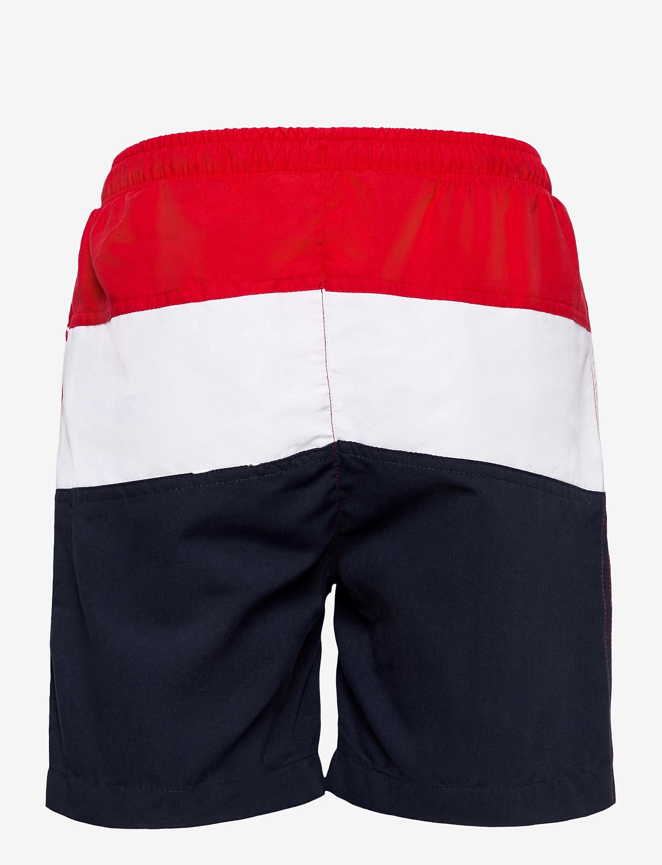FILA - KIDS BOYS NICOLO swim shorts - bademode - black iris-true red-bright white - 1