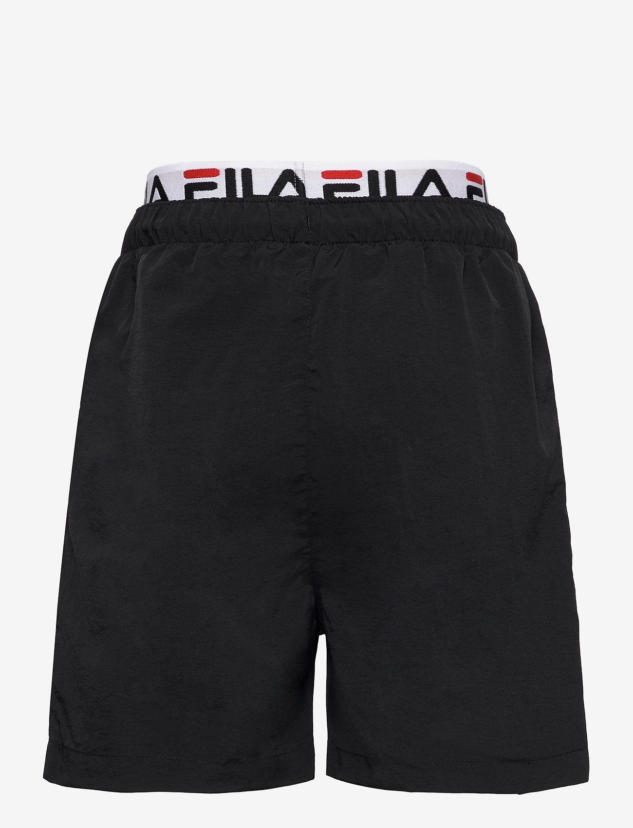 FILA - TEENS BOYS RENE swim shorts - bademode - black - 1