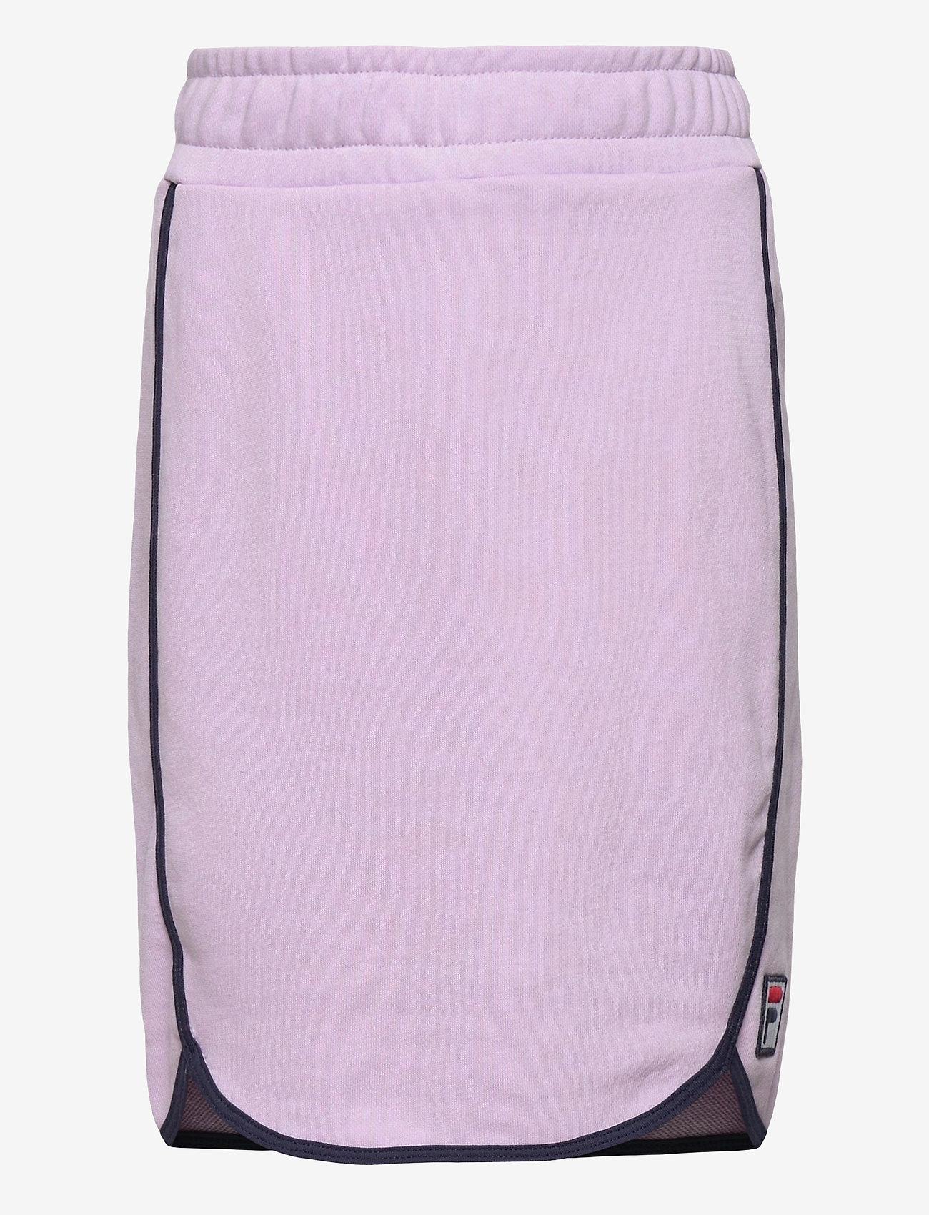 FILA - TEENS GIRLS FRANCIS sweat skirt - röcke - pastel lilac - 0