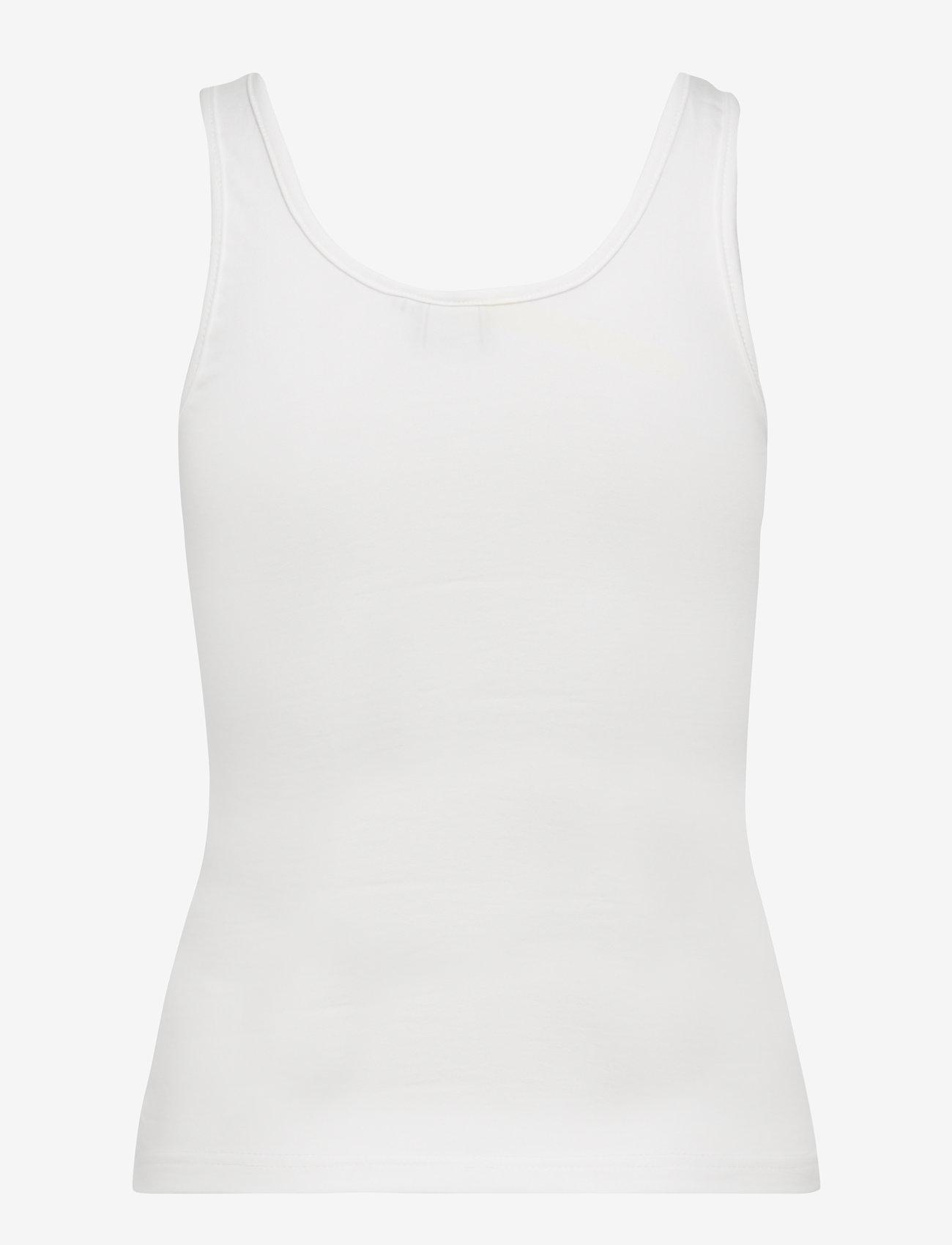 FILA - WOMEN ANNA tank top - sportoberteile - blanc de blanc - 1
