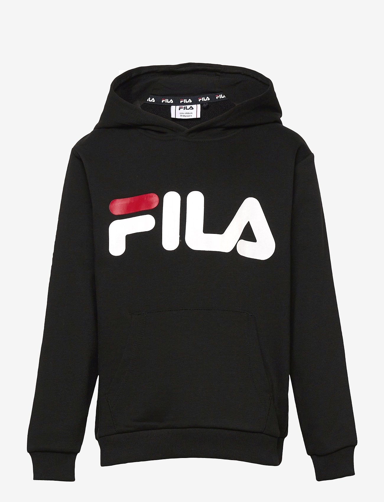 FILA - TEENS UNISEX ANDREY classic logo hoody - hoodies - black - 0