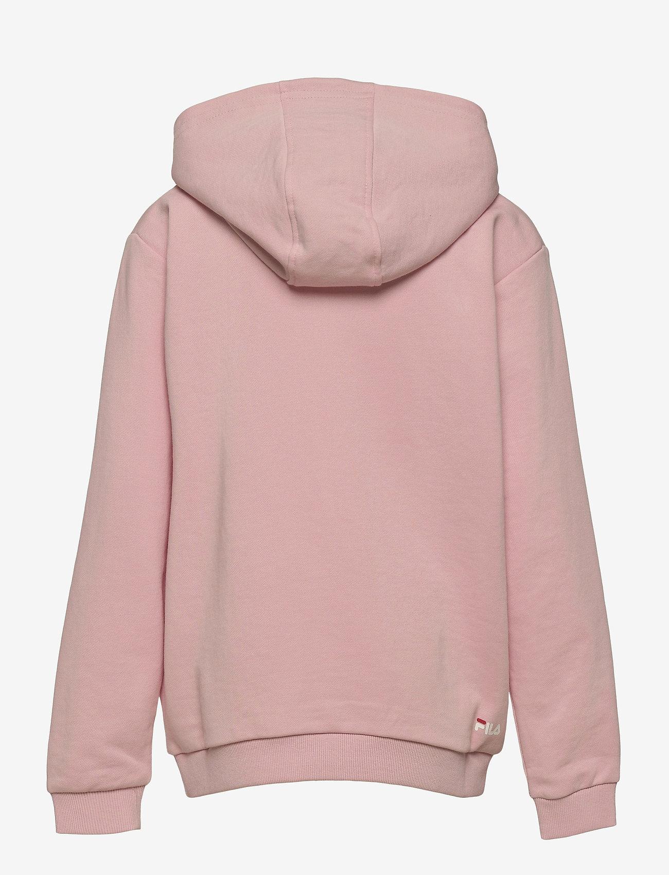FILA - TEENS UNISEX ANDREY classic logo hoody - hoodies - coral blush - 1