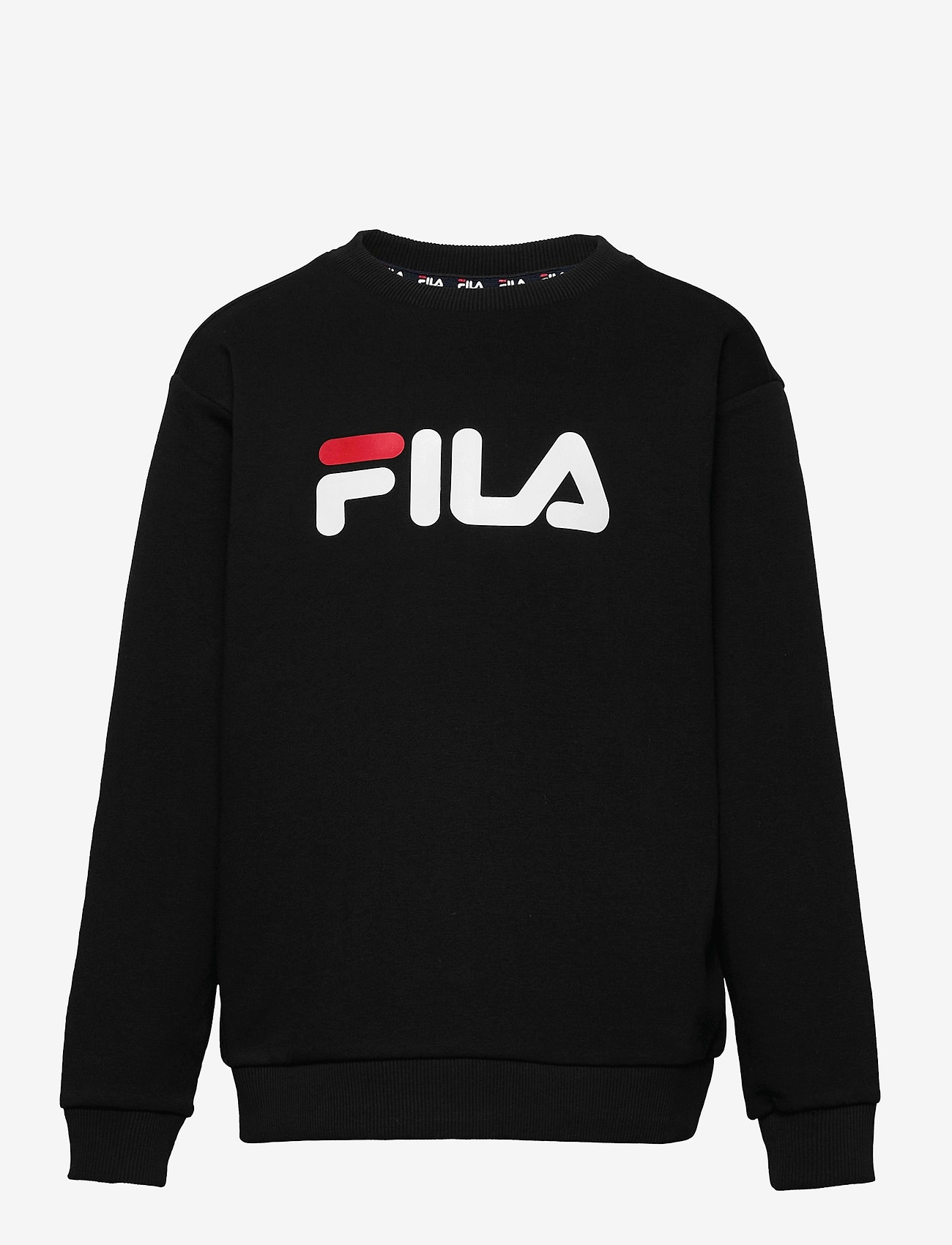 FILA - TEENS UNISEX VIOLO logo crew sweat - sweatshirts - black - 0