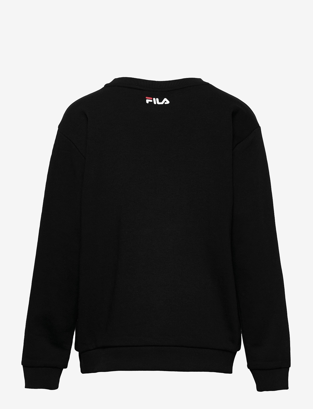 FILA - TEENS UNISEX VIOLO logo crew sweat - sweatshirts - black - 1