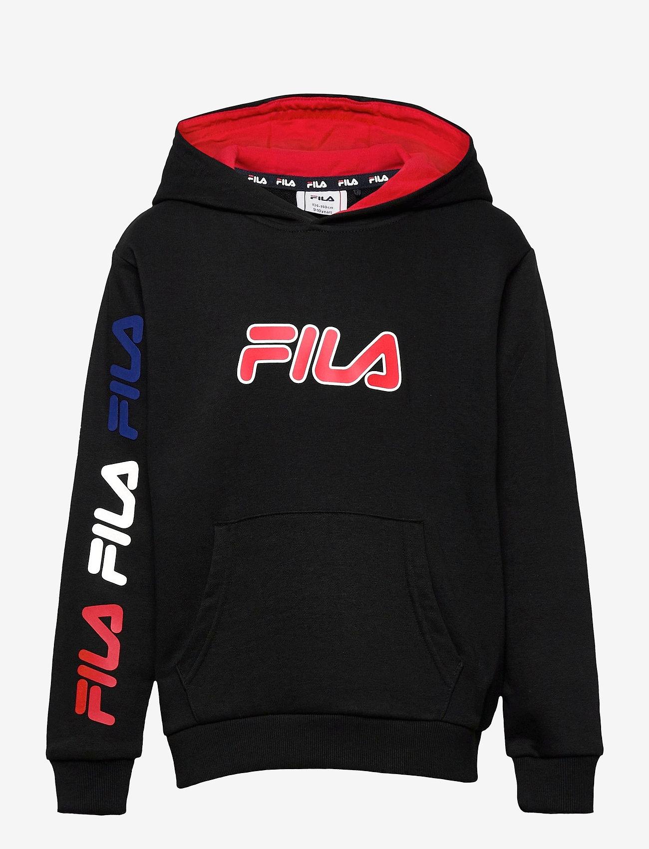 FILA - TEENS BOYS VITOR hoody - hoodies - black - 0